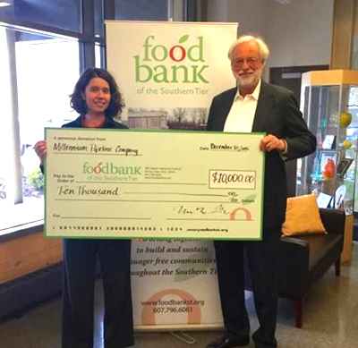 Millennium donates $10,00 to Food Bank